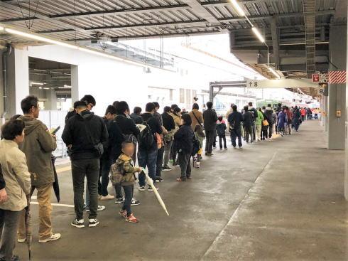 観光列車〇〇のはなし に長蛇の列