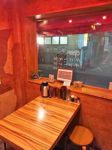 広島の汁なし担々麺専門店 麻沙羅(マサラ)店内の様子2