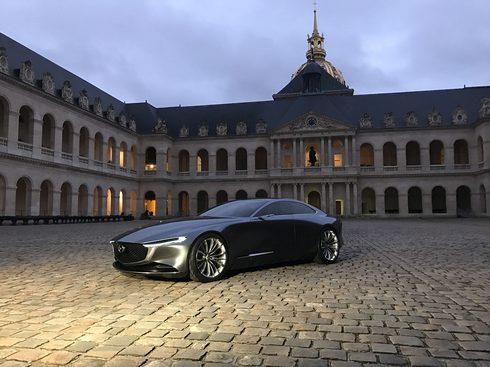 世界一美しい車に「マツダ ビジョン クーペ」パリとスイスで2度の受賞