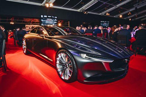 マツダ ビジョンクーペが「最も美しいコンセプトカー」を受賞