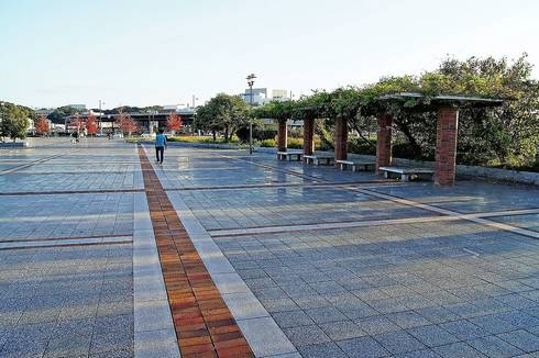 広島市南区の憩いの公園、広島みなと公園