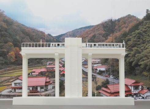 天空の駅、模型で発売 ジオコレ新シリーズ「三江線 宇都井駅」