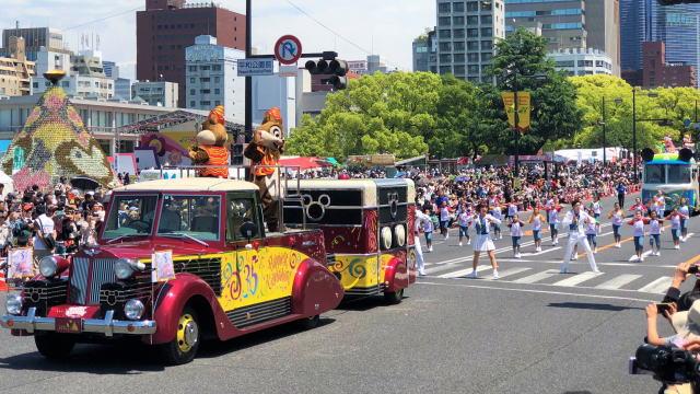 フラワーフェスティバル ディズニーパレード 写真1