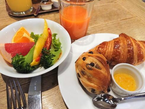 尾道U2、ホテルサイクル宿泊者の朝食例