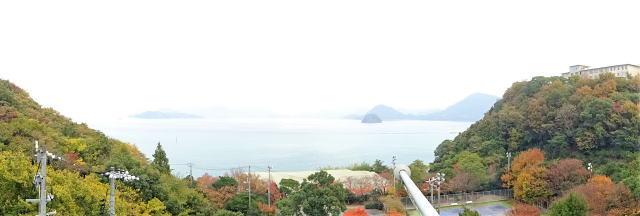 大崎上島 木江ふれあい郷土資料館 3階操舵室からの景色