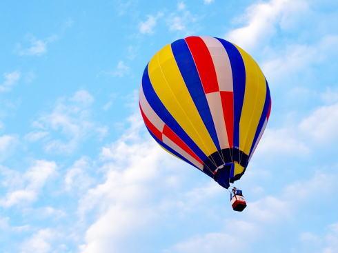 熱気球飛行体験にキッチンカーグルメ!江田島まるとくフェア