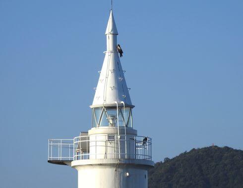 広島港の西防波堤灯台