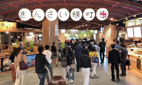 ジ アウトレツト広島、地元グルメも盛りだくさん