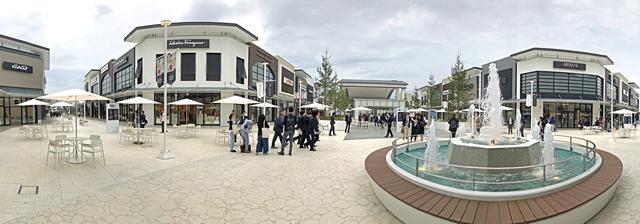 ジ アウトレット広島、大型モールの全貌公開!