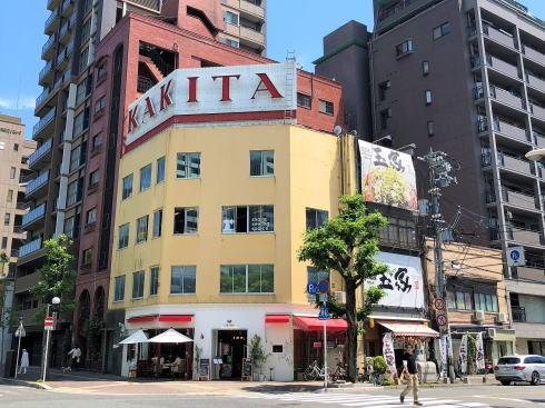 広島 じぞう通りの角!カフェ レオーネ、ランチや街ブラ休憩に
