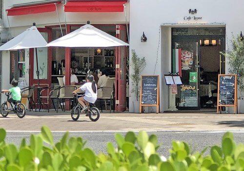 カフェ レオーネ、オマール海老のパスタが美味