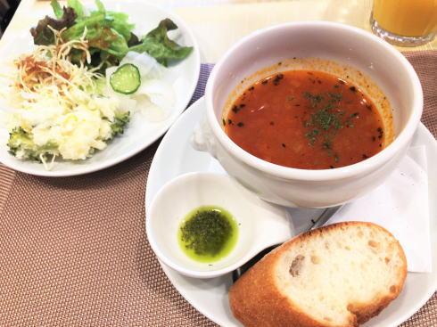 広島市 カフェ レオーネ ランチのサイドメニュー