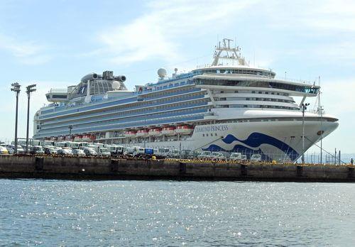 ダイヤモンドプリンセス 船内見学会、広島港五日市埠頭で開催