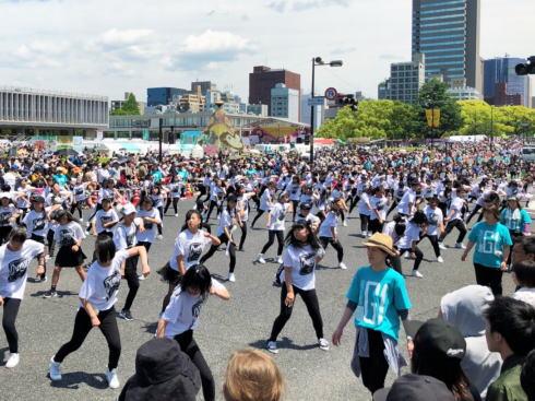 ひろしまフラワーフェスティバル 花の総合パレード