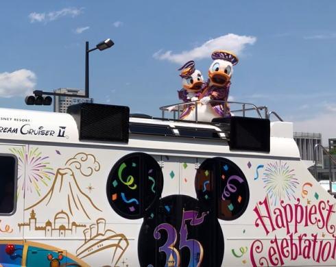 フラワーフェスティバル ディズニーパレード 写真2