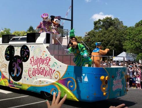 フラワーフェスティバル ディズニーパレード 写真3