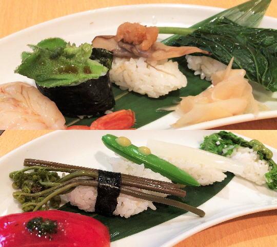 野菜寿司も!すし鮮きずな屋で、野菜のおいしさ再発見