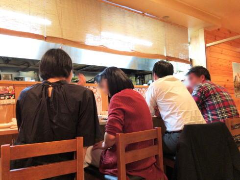 広島市中区 旬菜 すし鮮きずな屋 店内の様子