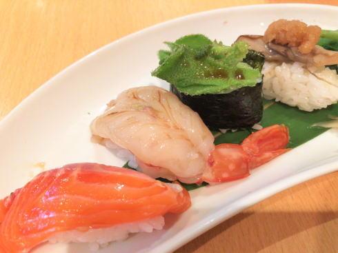 広島市中区 旬菜 すし鮮きずな屋 野菜寿司2