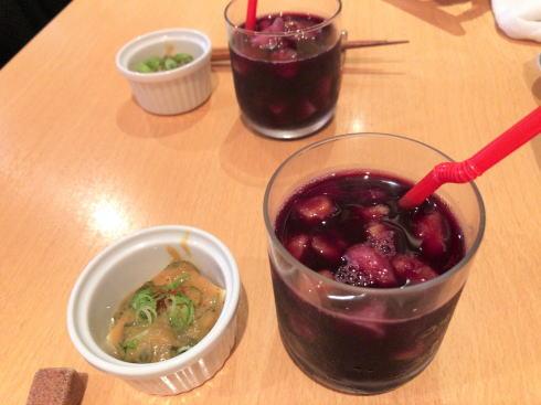 広島市中区 旬菜 すし鮮きずな屋 ドリンク