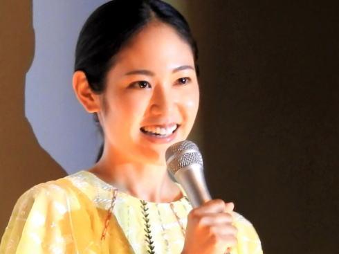 孤狼の血 阿部純子 舞台挨拶の写真