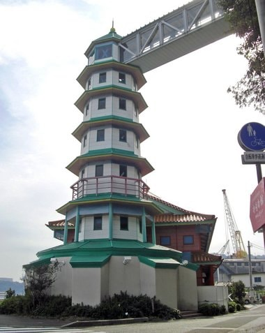 大崎上島、かもめ館は神峰山の登山口