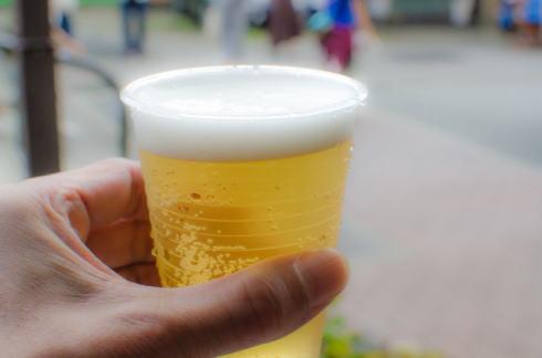 広島地ビール祭り、マリホでビール飲み比べ・海と山のうまいもの
