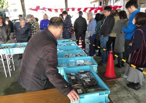 大竹gogo水産市、毎月第3土曜日開催