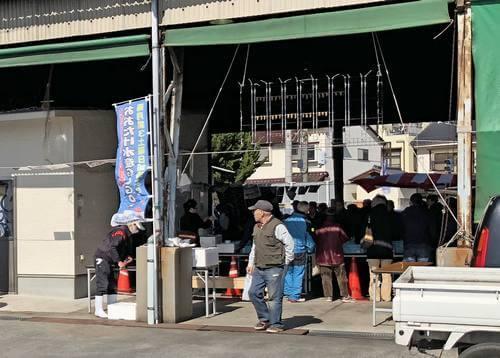 大竹市でgogo水産市、毎月第3土曜日開催