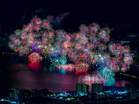 滋賀県 びわ湖大花火大会