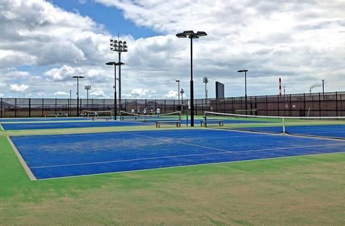 晴海臨海公園のテニスコート