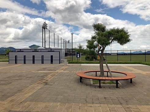 晴海臨海公園のトイレ