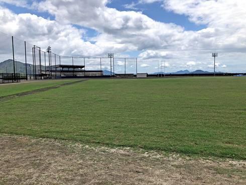 晴海臨海公園の野球場