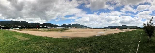 晴海臨海公園のグラウンド