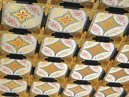 名古屋城本丸御殿 天井まで美しい