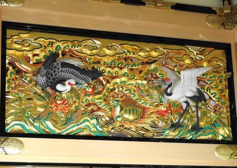 名古屋城本丸御殿、彫刻欄間