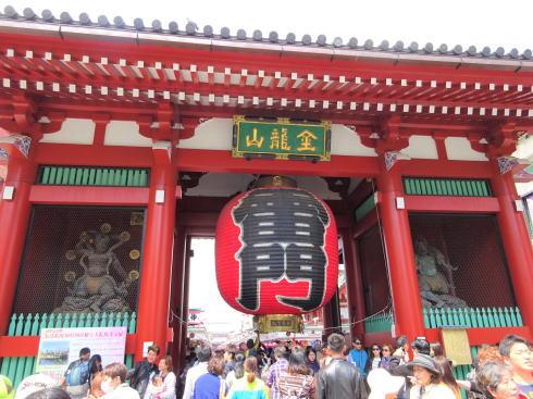 外国人に人気の日本の観光スポット2018 浅草寺