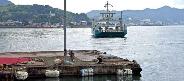 尾道 生口島・赤崎港と赤崎レストハウスについて