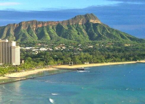 広島空港からハワイ直行便が運航