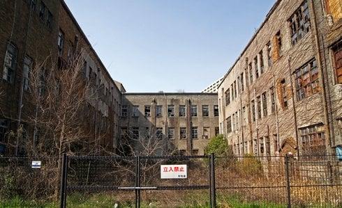 被爆建物である、広島大学旧理学部1号館