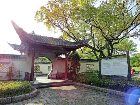 広島・中国式庭園の渝華園01