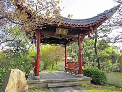 広島・渝華園の眺望スポット