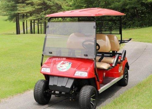 カープ愛込めゴルフ場からもエール「カープカート」ツネイシが販売へ