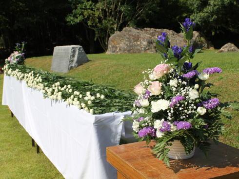 福岡県八女市星野村 平和祈念式典の様子6