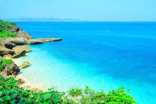 沖縄・久高島の美しいビーチ
