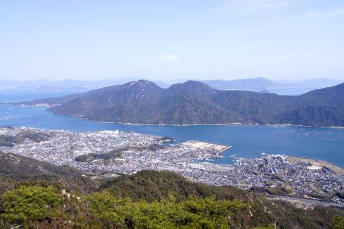 経小屋山からの眺め