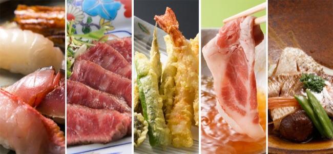 ホテル和食で50種オーダービュッフェ、リーガ広島でスタート