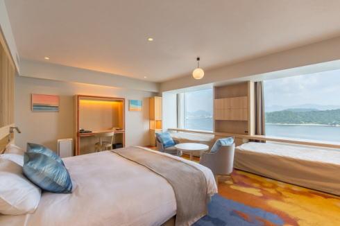 グランドプリンスホテル広島のクラブフロア
