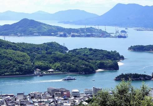 因島公園テレビ塔展望台10