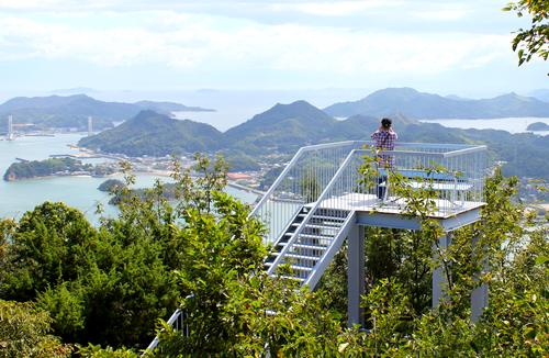 因島公園 テレビ塔展望台